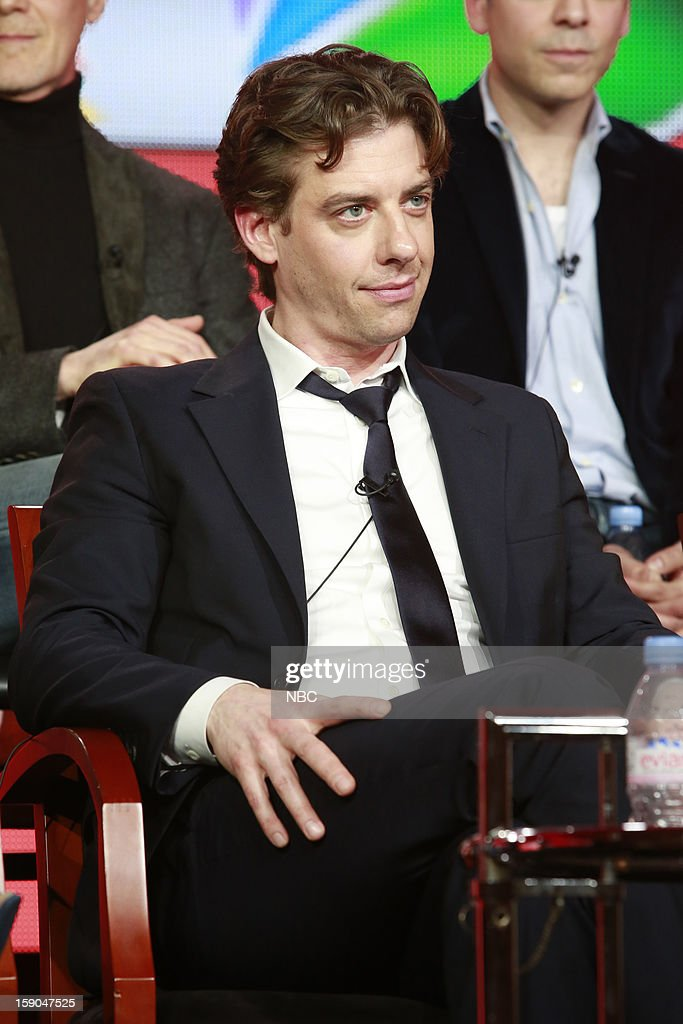 EVENTS -- NBCUniversal Press Tour January 2013 -- 'Smash' -- Pictured: Christian Borle --
