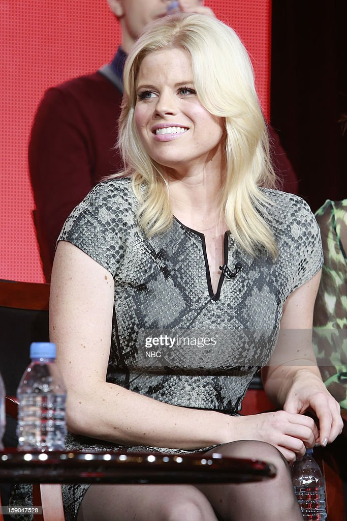 EVENTS -- NBCUniversal Press Tour January 2013 -- 'Smash' -- Pictured: Megan Hilty --