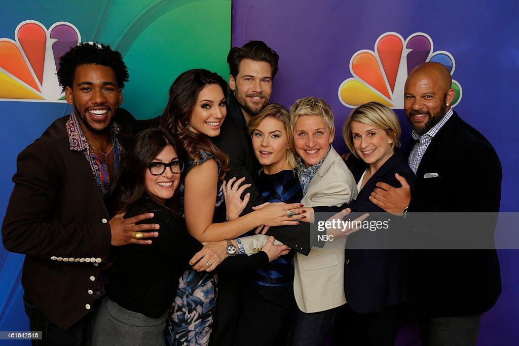 """NBC's """"Press Tour January 2015"""" - Roaming"""