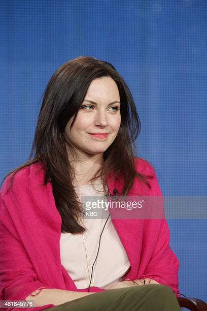EVENTS NBCUniversal Press Tour January 2015 'The Night Shift' Session Pictured Jill Flint