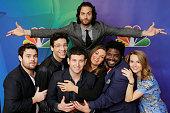 EVENTS NBCUniversal Press Tour January 2015 'Undateable' Pictured David Fynn Rick Glassman Brent Morin Chris D'Elia Bianca Kajlich Ron Funches...