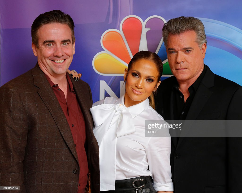 EVENTS -- NBCUniversal Press Tour, January 2017 -- NBC's 'Shades of Blue' -- Pictured: (l-r) Jack Orman, Executive Producer; Jennifer Lopez, Talent/Executive Producer; Ray Liotta --