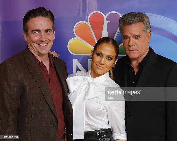 EVENTS NBCUniversal Press Tour January 2017 NBC's 'Shades of Blue' Pictured Jack Orman Executive Producer Jennifer Lopez Talent/Executive Producer...