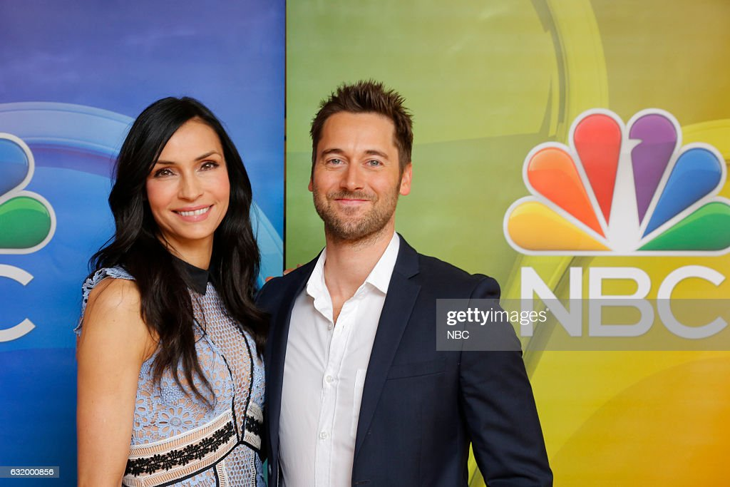 EVENTS -- NBCUniversal Press Tour, January 2017 -- NBC's 'The Blacklist: Redemption' -- Pictured: (l-r) Famke Janssen, Ryan Eggold --
