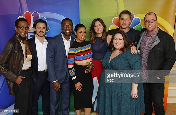 EVENTS NBCUniversal Press Tour January 2017 NBC's 'This Is Us' Pictured Ron Cephas Jones Milo Ventimiglia Sterling K Brown Susan Kelechi Watson Mandy...