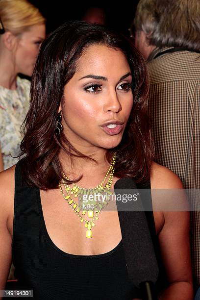 EVENTS NBCUniversal Press Tour July 2012 'Chicago Fire Session' Pictured Monica Raymund