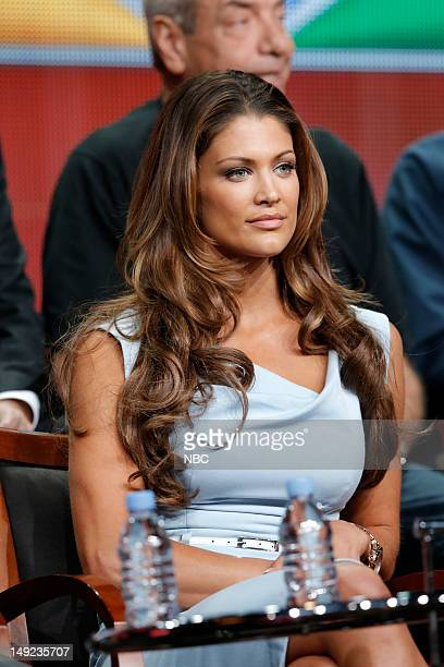 EVENTS NBCUniversal Press Tour July 2012 'Stars Earn Stripes' Session Pictured Eve Torres