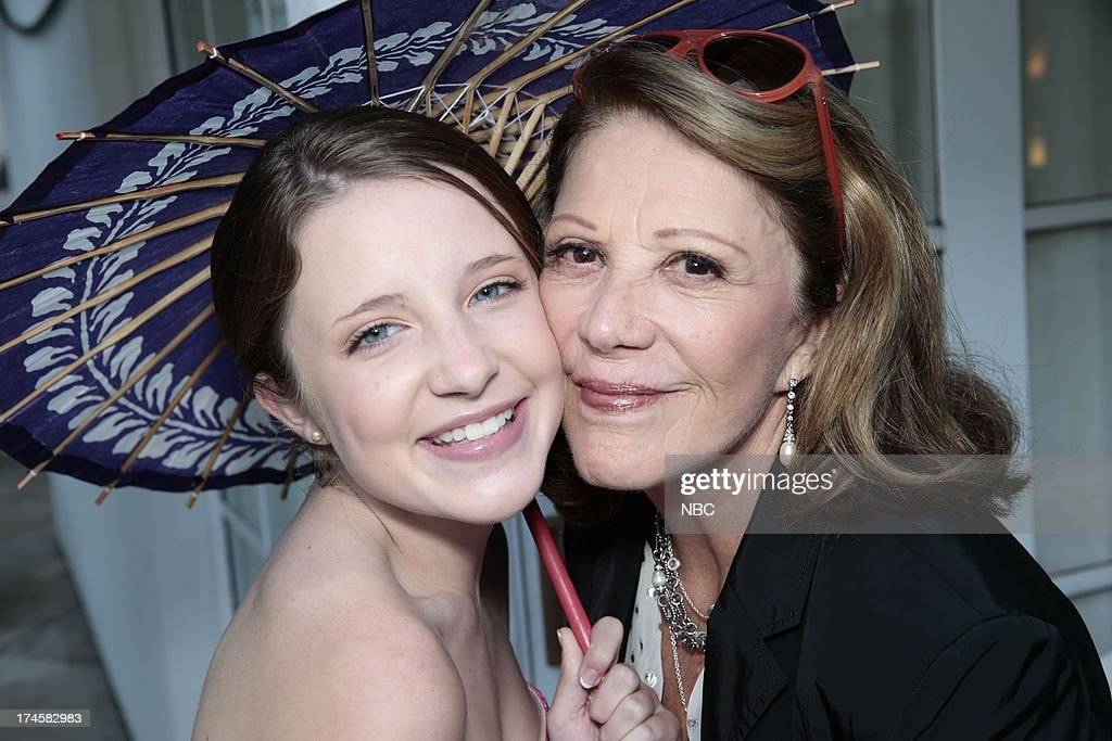 EVENTS -- NBCUniversal Press Tour July 2013 -- 'NBC Cocktail Reception' -- Pictured: (l-r) Samantha Isler, 'Sean Saves the World,' Linda Lavin, 'Sean Saves the World' --