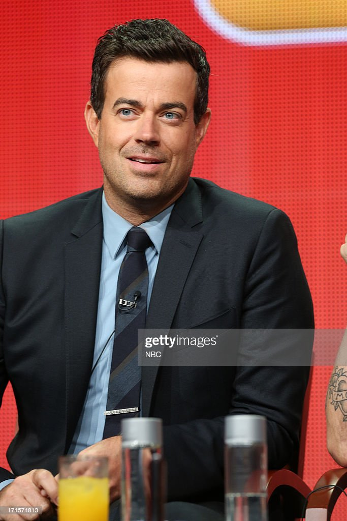 EVENTS -- NBCUniversal Press Tour July 2013 -- 'The Voice Session' -- Pictured: Carson Daly --