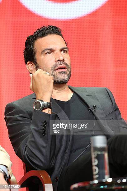 EVENTS NBCUniversal Press Tour July 2013 'Welcome to the Family' Session Pictured Ricardo A Chavira