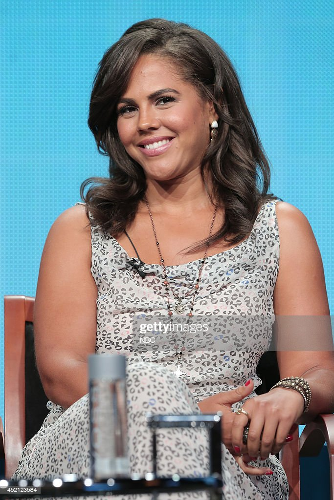 EVENTS -- NBCUniversal Press Tour, July 2014 -- 'A to Z' Session -- Pictured: Lenora Crichlow --