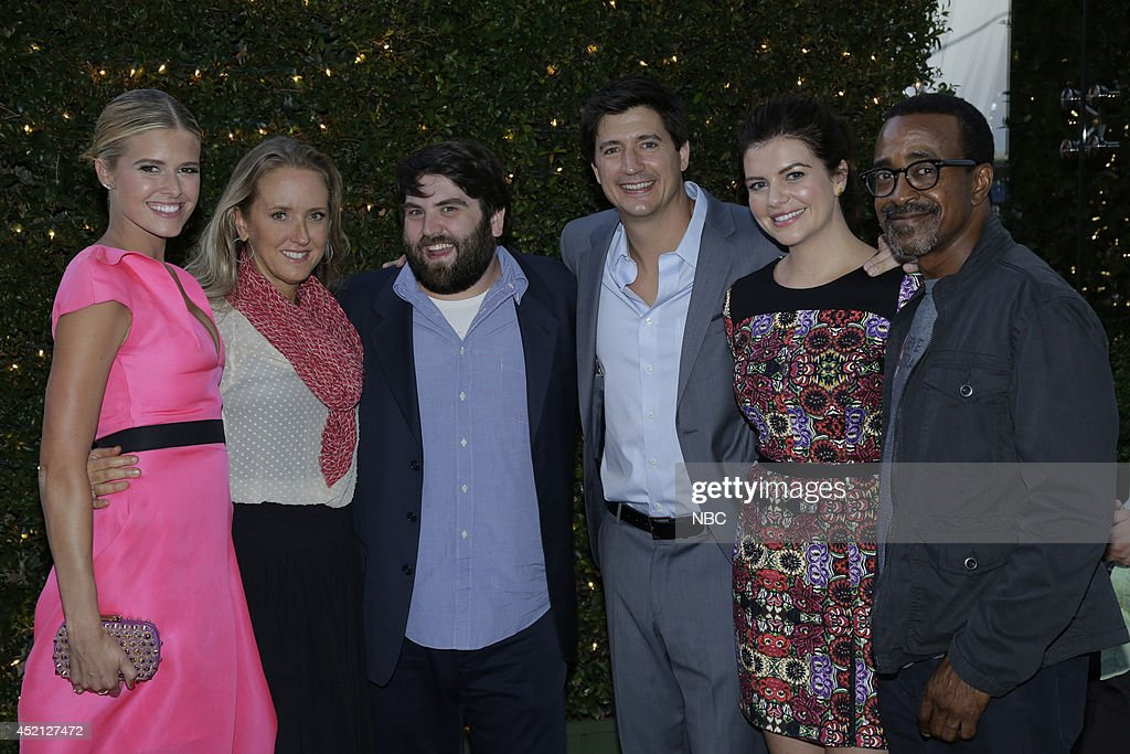 EVENTS NBCUniversal Press Tour July 2014 AllStar Party Pictured Sarah Wright Jennifer Salke President NBC Entertainment John Gemberling Ken Marino...
