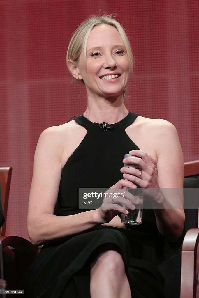 EVENTS -- NBCUniversal Press Tour, July 2014 -- 'Bad Judge' Session -- Pictured: Anne Heche, Executive Producer --