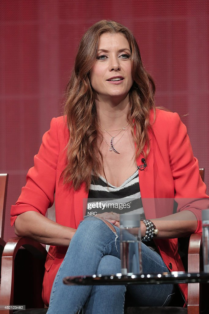 EVENTS -- NBCUniversal Press Tour, July 2014 -- 'Bad Judge' Session -- Pictured: Kate Walsh --