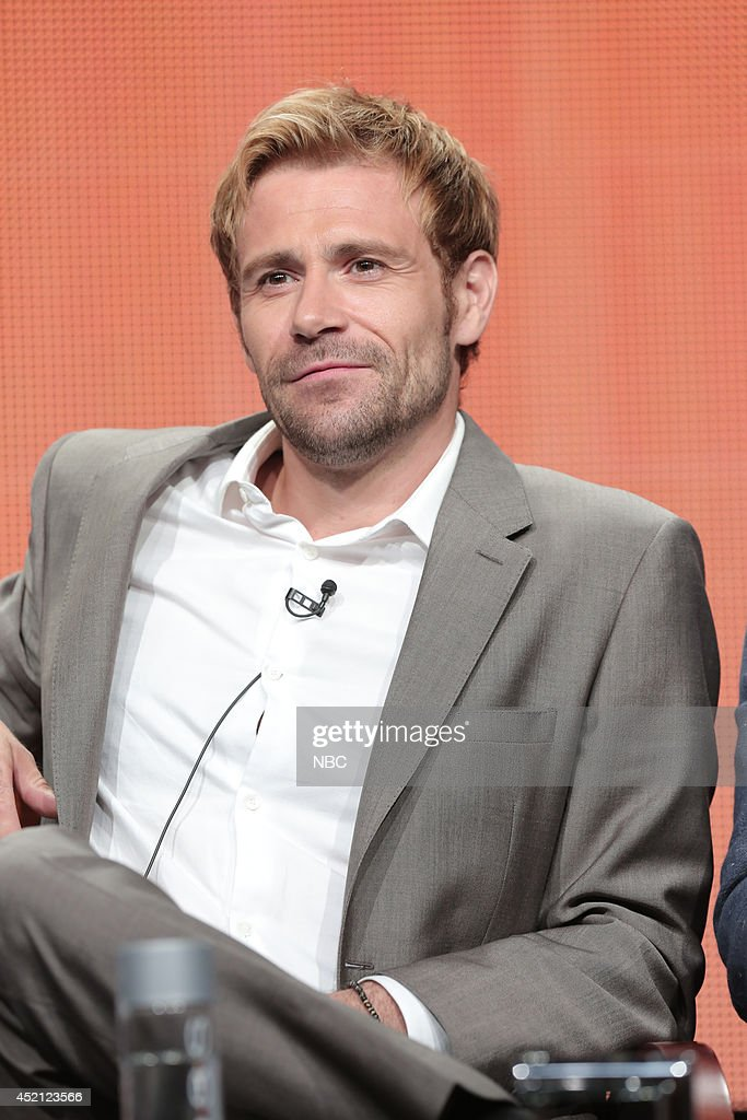 EVENTS -- NBCUniversal Press Tour, July 2014 -- 'Constantine' Session -- Pictured: <a gi-track='captionPersonalityLinkClicked' href=/galleries/search?phrase=Matt+Ryan+-+Actor&family=editorial&specificpeople=5460426 ng-click='$event.stopPropagation()'>Matt Ryan</a> --