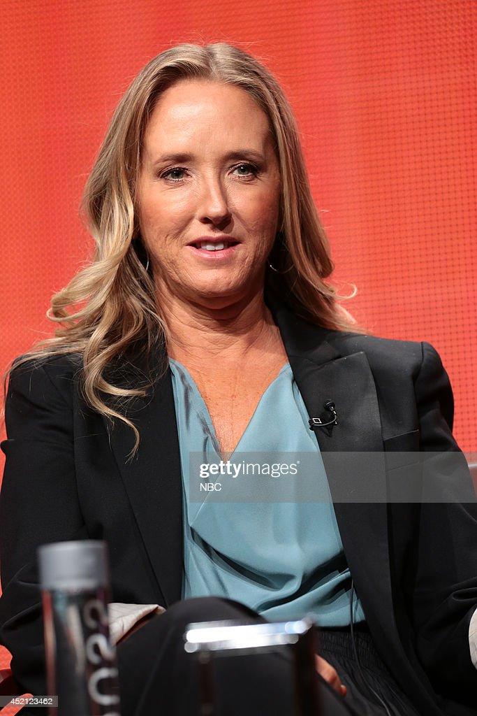 EVENTS -- NBCUniversal Press Tour, July 2014 -- 'Executive Session' -- Pictured: Jennifer Salke, President, NBC Entertainment --