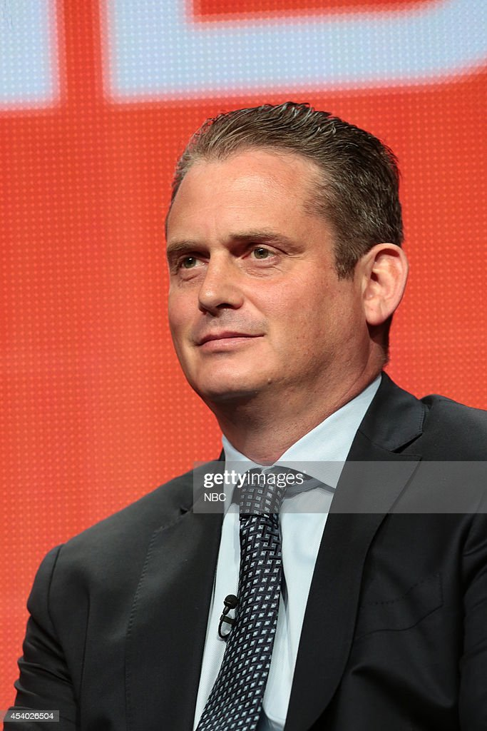 EVENTS -- NBCUniversal Press Tour, July 2014 -- 'Executive Session' -- Pictured: Paul Telegdy, President, Alternative and Late Night Programming, NBC Entertainment --