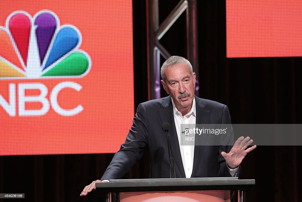 EVENTS -- NBCUniversal Press Tour, July 2014 -- 'Ratings Analysis: Inside the Numbers' Session -- Pictured: Alan Wurtzel, President, Research & Media Development, NBCUniversal --