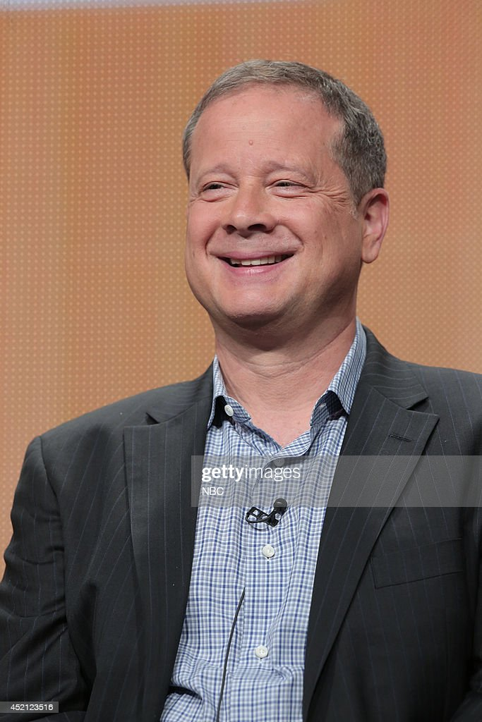 EVENTS -- NBCUniversal Press Tour, July 2014 -- 'The 66th Primetime Emmy Awards' Session -- Pictured: Mike Shoemaker, Writer --