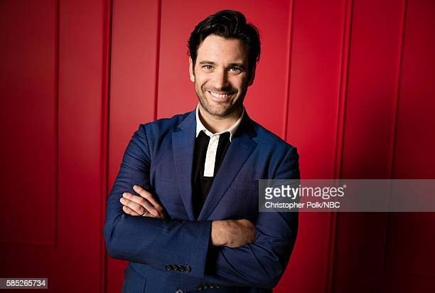 EVENTS NBCUniversal Press Tour Portraits AUGUST 02 2016 Actor Colin Donnell of 'Chicago Med' poses for a portrait in the the NBCUniversal Press Tour...