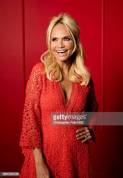 EVENTS NBCUniversal Press Tour Portraits AUGUST 02 2016 Actress Kristin Chenoweth of 'Hairspray Live' poses for a portrait in the the NBCUniversal...