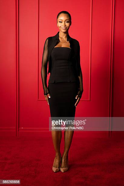 EVENTS NBCUniversal Press Tour Portraits AUGUST 02 2016 Actress Yaya Dacosta of 'Chicago Med' poses for a portrait in the the NBCUniversal Press Tour...