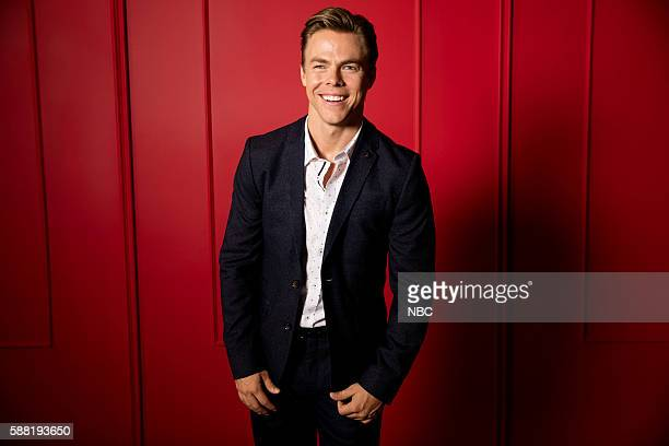 EVENTS NBCUniversal Press Tour Portraits August 2016 Pictured Derek Hough 'Hairspray Live'
