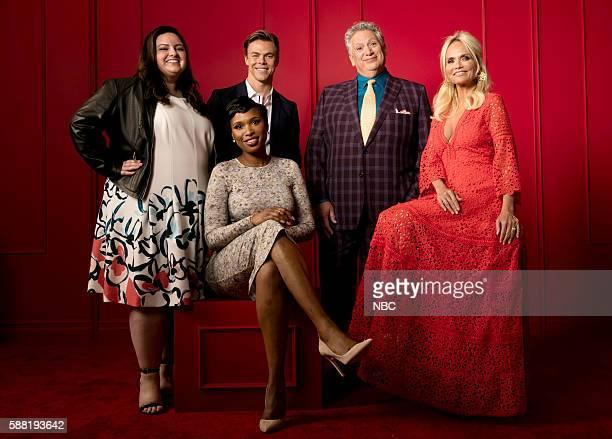EVENTS NBCUniversal Press Tour Portraits August 2016 Pictured Maddie Baillio Derek Hough Jennifer Hudson Harvey Fierstein Kristin Chenoweth...