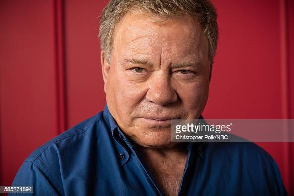 EVENTS NBCUniversal Press Tour Portraits August 2016 Pictured William Shatner 'Better Late Than Never' poses for a portrait in the the NBCUniversal...