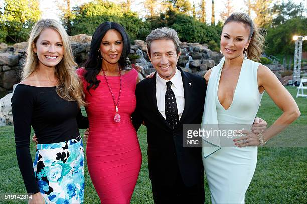 EVENTS NBCUniversal Summer Press Day April 1 2016 Cocktail Reception Pictured Cameran Eubanks 'Southern Charm' LeeAnne Locken 'The Real Housewives of...