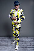 EVENTS NBCUniversal Summer Press Day April 1 2016 Pictured Nick Cannon of 'America's Got Talent' poses for a portrait during the NBCUniversal Summer...