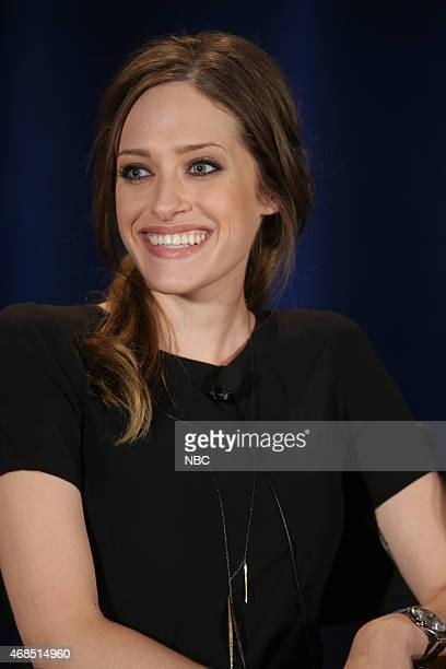 EVENTS NBCUniversal Summer Press Day April 2015 'Mr Robot' Panel Pictured Carly Chaikin
