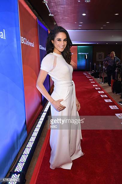 EVENTS NBCUniversal Summer Press Day June 2015 Red Carpet Pictured Meghan Markle from 'Suits' on USA Network