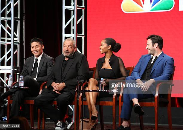 EVENTS NBCUniversal Summer Press Tour August 2 2016 NBC's 'Chicago Med' Panel Pictured Brian Tee Dick Wolf Executive Producer Yaya DaCosta Colin...