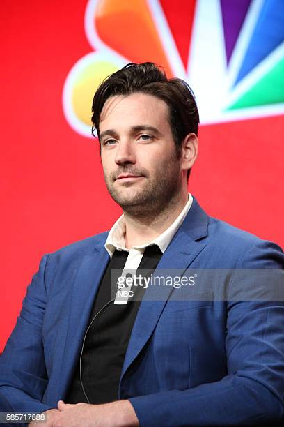 EVENTS NBCUniversal Summer Press Tour August 2 2016 NBC's 'Chicago Med' Panel Pictured Colin Donnell