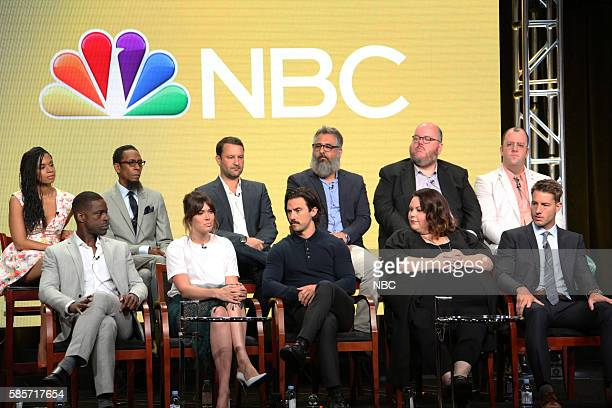 EVENTS NBCUniversal Summer Press Tour August 2 2016 NBC's 'This Is Us' Panel Pictured Susan Kelechi Watson Sterling K Brown Ron Cephas Jones Mandy...
