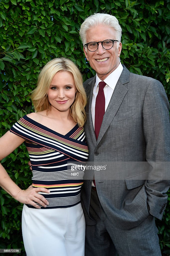 EVENTS NBCUniversal Summer Press Tour August 2 2016 Party at BOA Steakhouse Pictured Kristen Bell Ted Danson The Good Place