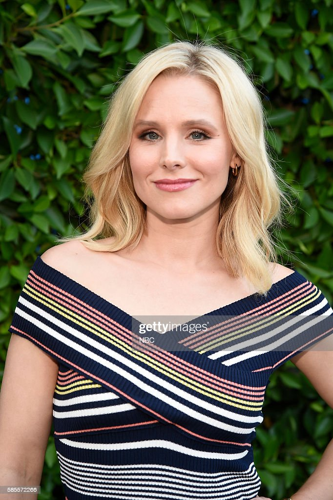 EVENTS NBCUniversal Summer Press Tour August 2 2016 Party at BOA Steakhouse Pictured Kristen Bell The Good Place