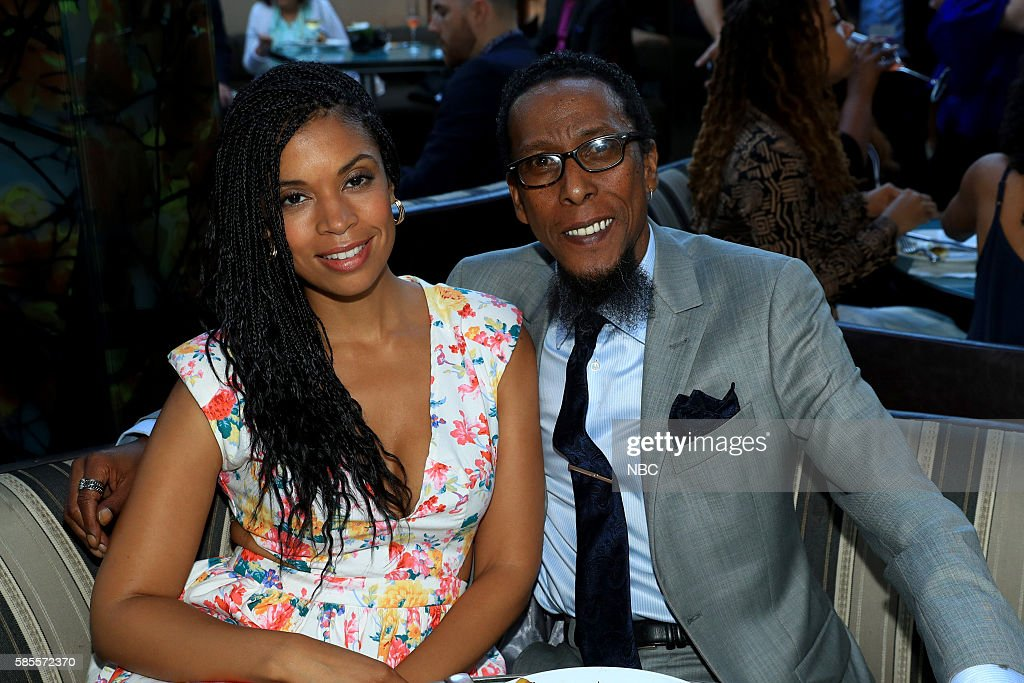 EVENTS NBCUniversal Summer Press Tour August 2 2016 Party at BOA Steakhouse Pictured Susan Kelechi Watson Ron Cephas Jones 'This is Us'