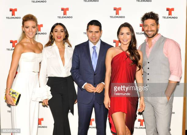 NBCUniversal Upfront in New York City on Monday May 15 2017 Executive Portraits Pictured Fernanda Castillo 'El Senor de Los Cielos' Catherine...