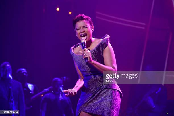 NBCUniversal Upfront in New York City on Monday May 15 2017 Pictured Jennifer Hudson 'The Voice' on NBC