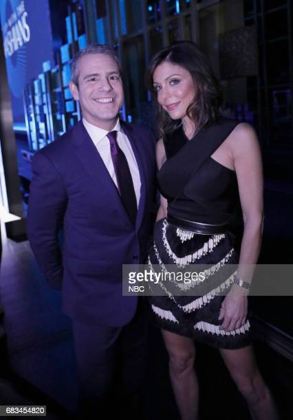 NBCUniversal Upfront in New York City on Monday May 15 2017 Pictured Andy Cohen 'Watch What Happens Live With Andy Cohen' Bethenny Frankel 'The Real...