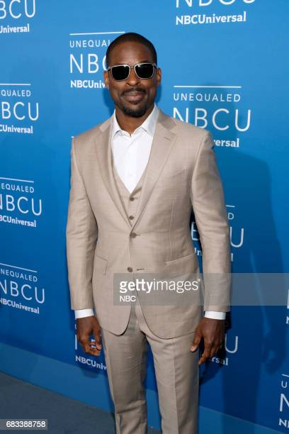 NBCUniversal Upfront in New York City on Monday May 15 2017 Red Carpet Pictured Sterling K Brown 'This Is Us' on NBC