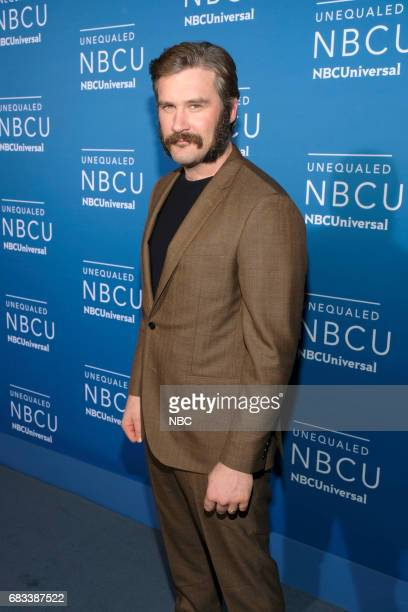 NBCUniversal Upfront in New York City on Monday May 15 2017 Red Carpet Pictured Clive Standen 'Taken' on NBC