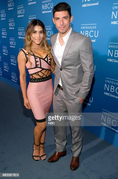 NBCUniversal Upfront in New York City on Monday May 15 2017 Red Carpet Pictured Sibley Scoles Alberto Guerra 'E News' on E Entertainment