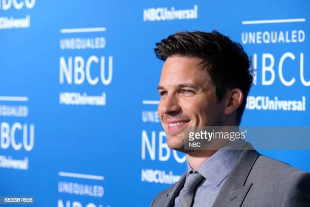 NBCUniversal Upfront in New York City on Monday May 15 2017 Red Carpet Pictured Matt Lanter 'Timeless' on NBC