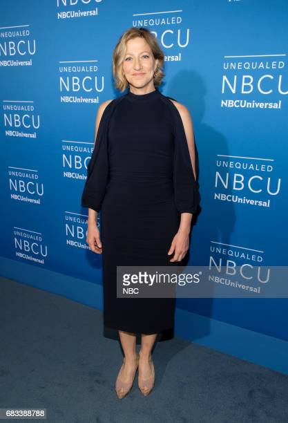 NBCUniversal Upfront in New York City on Monday May 15 2017 Red Carpet Pictured Edie Falco 'Law Order True Crime The Melendez Murders' on NBC
