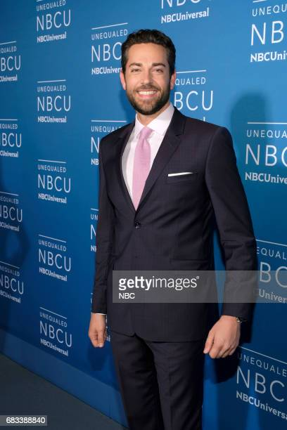 NBCUniversal Upfront in New York City on Monday May 15 2017 Red Carpet Pictured Zachary Levi 'Syfy Presents Live from ComicCon' on Syfy