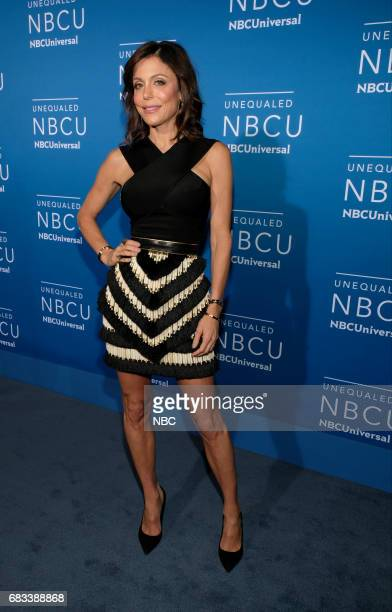 NBCUniversal Upfront in New York City on Monday May 15 2017 Red Carpet Pictured Bethenny Frankel 'The Real Housewives of New York' on Bravo