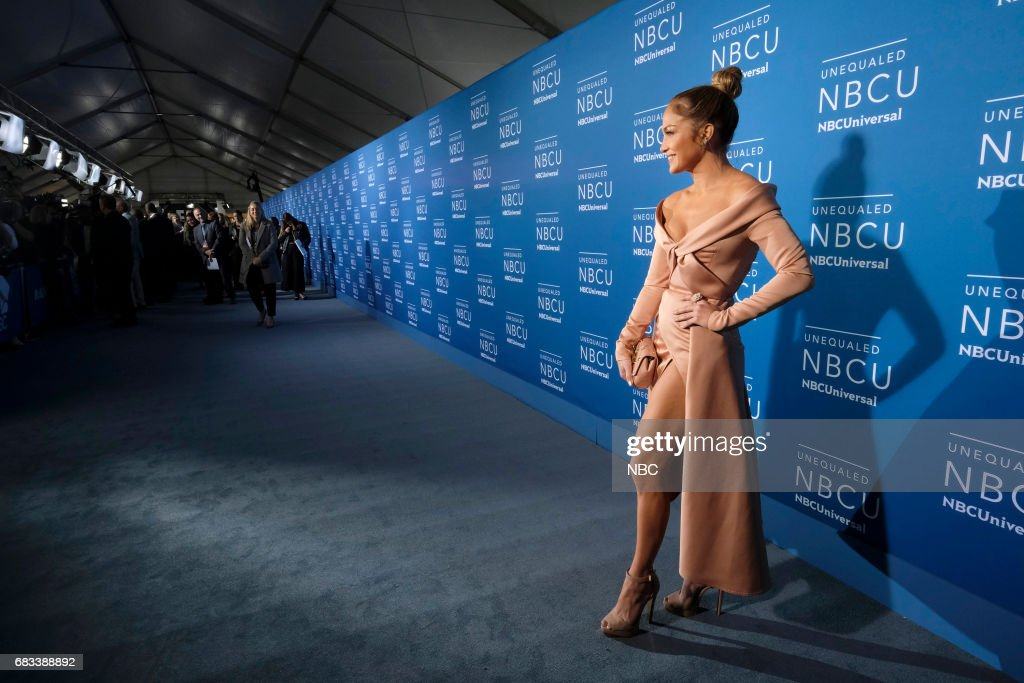 NBCUniversal Upfront in New York City on Monday, May 15, 2017 -- Red Carpet -- Pictured: Jennifer Lopez, 'World of Dance' on NBC --